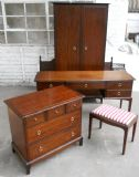 Stag Minstrel Bedroom Furniture, Five Piece Bedroom Suite